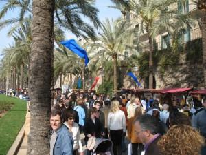 Fest in Palma de Mallorca